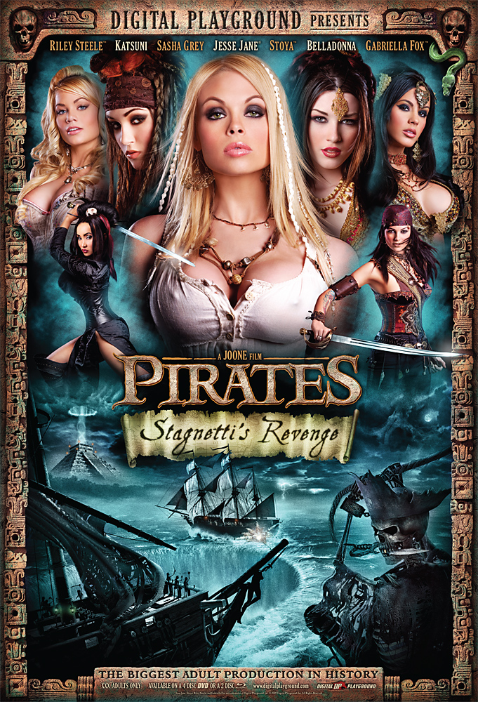 Pirates 2 Poster: One of our Porn Stars is Missing