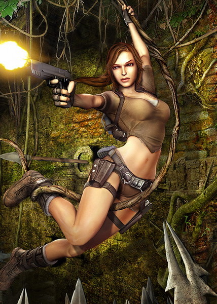 The XXX Trailer of Chanel Preston as Lara Croft Is Positioned to Go Viral ...