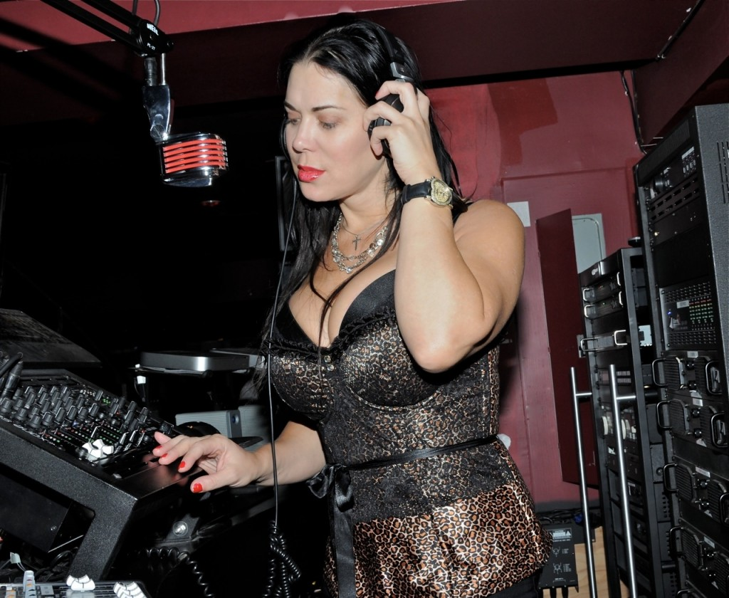 Backdoor To Chyna Pics chyna spins music in the dj booth at rick's cabaret in new