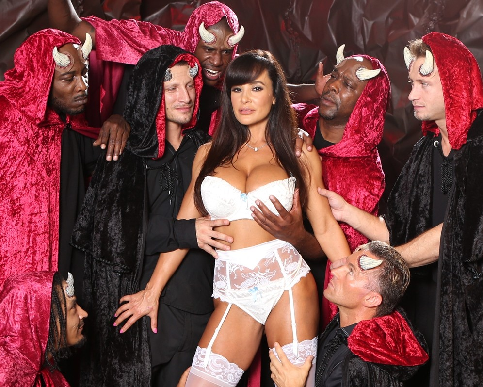 The devil gangbang lisa ann chanel preston devil